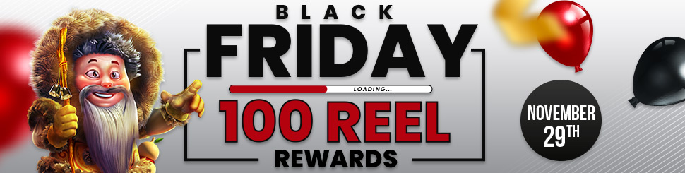 100 Black Friday Free Spins At Cyberspins