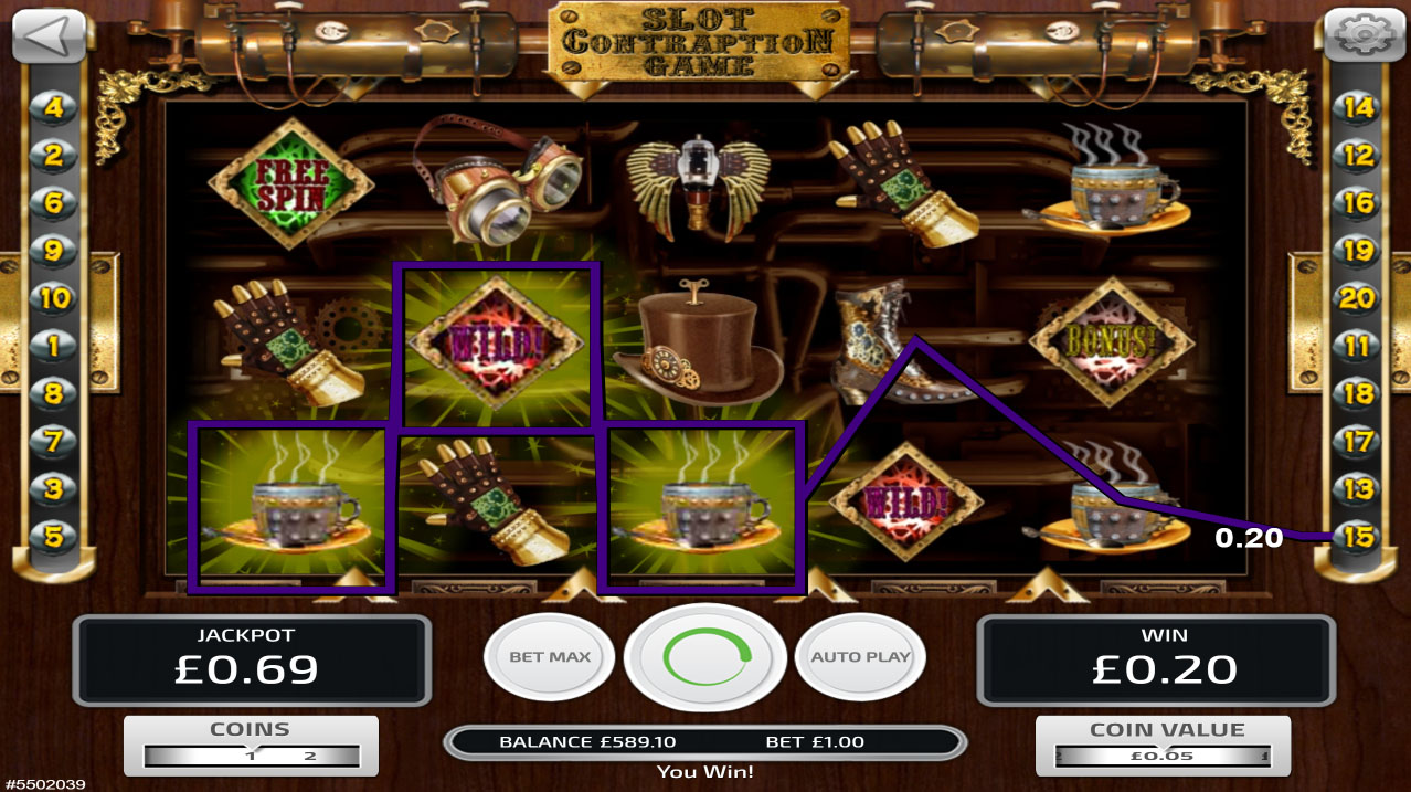 Play Contraption Game Slots Today With No Download
